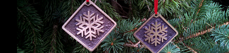 Bronze Christmas / Holiday ornamants