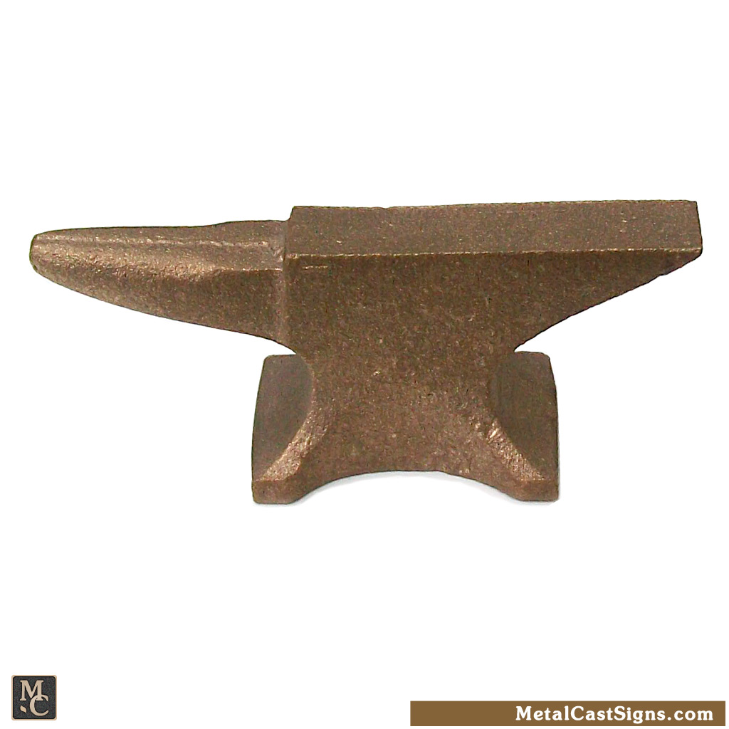 Bronze mini anvil