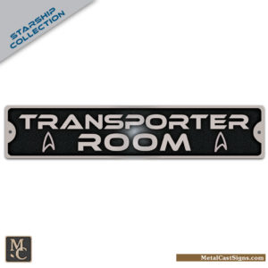 Transporter Room sign - Star Trek