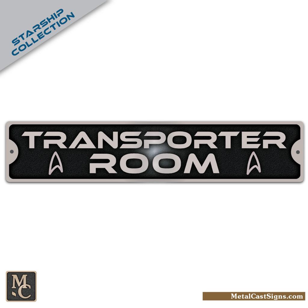 Transporter Room sign - Star Trek
