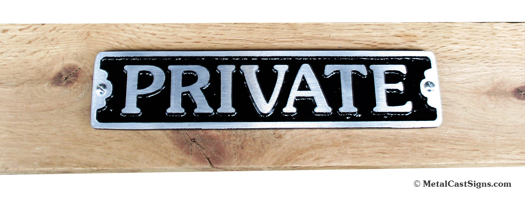 Natural Cast Iron Wall Mounted MANAGEMENT Plaque For Door Toilet Garden Sign